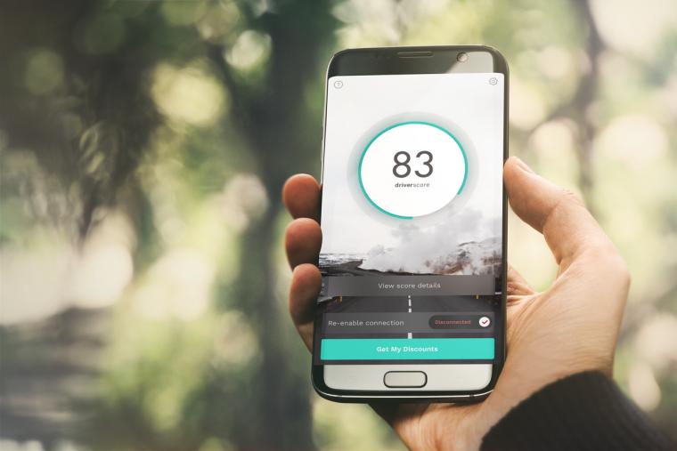 Ford SYNC AppLink DriverScore app