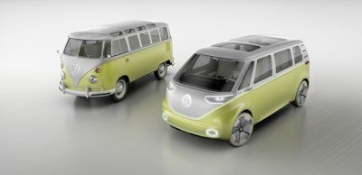 VW I.D. Buzz Concept Bus Van