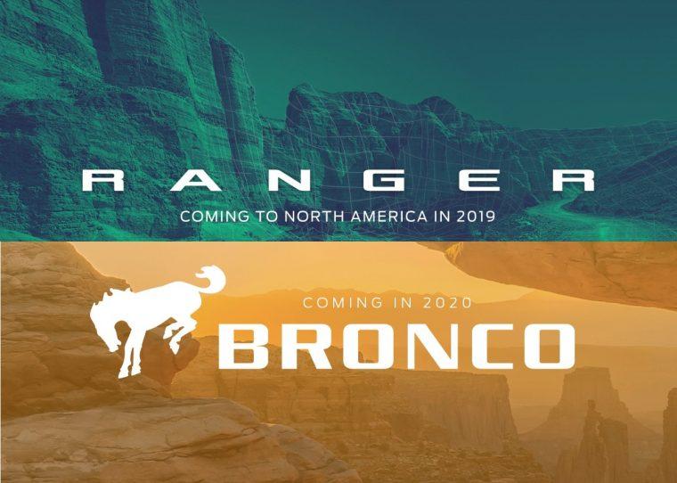 Ford Ranger and Bronco logo