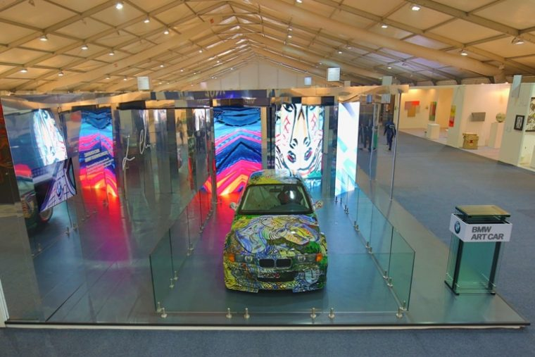 Another view of BMW's 13th Art Car