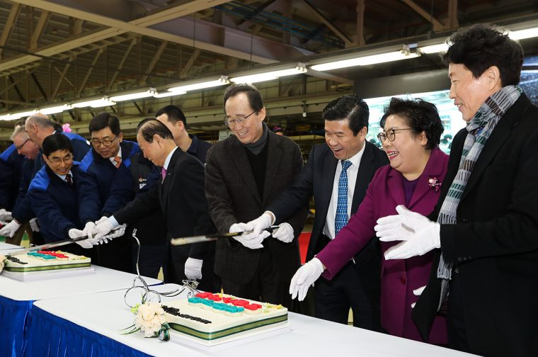 Cake GM Korea Gunsan