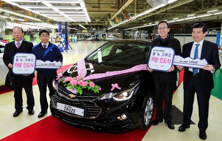 Chevrolet Cruze GM Korea Gunsan