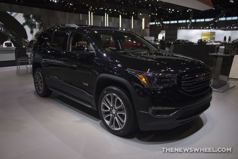 GMC brought its full lineup of vehicles to the 2017 Chicago Auto Show, including the 2017 GMC Acadia All Terrain