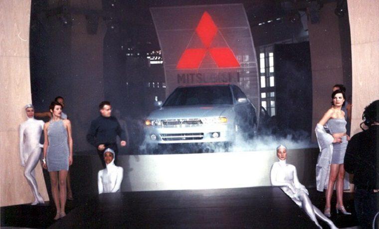 1999 Mitsubishi Galant at Chicago Auto show