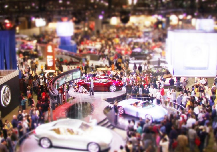 2012 New York International Auto Show event exhibit display cars admission tickets