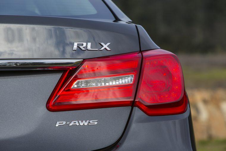 2017 Acura RLX Exterior