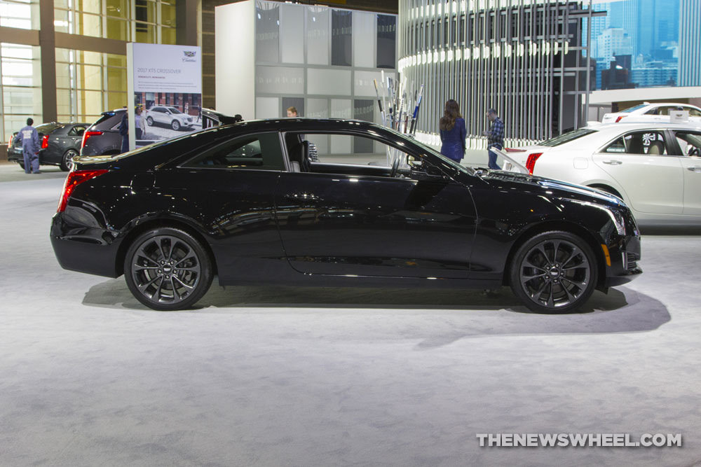 Cadillac brought its entire model lineup to the 2017 Chicago Auto Show, including the 2017 Cadillac ATS Coupe