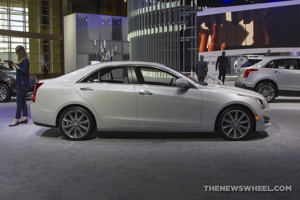 Cadillac brought its entire model lineup to the 2017 Chicago Auto Show, including the 2017 Cadillac ATS Sedan
