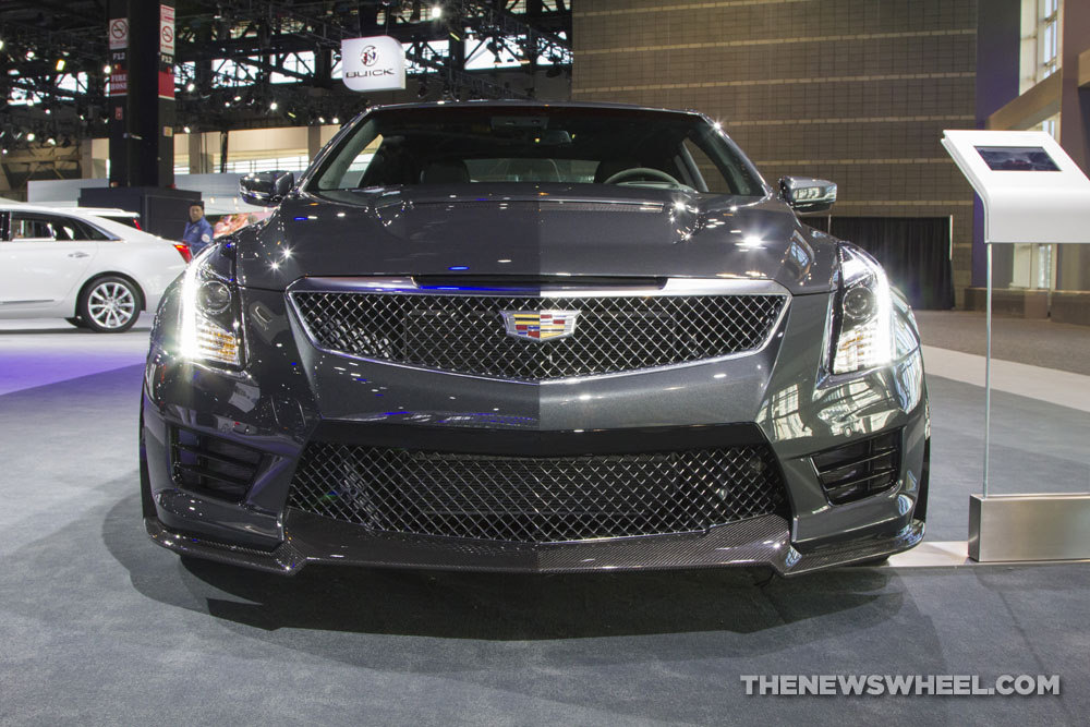 Cadillac brought its entire model lineup to the 2017 Chicago Auto Show, including the 2017 Cadillac ATS-V Coupe