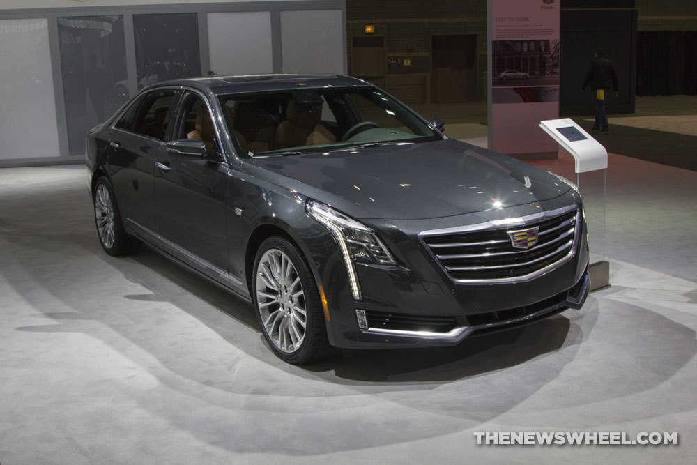 Cadillac brought its entire model lineup to the 2017 Chicago Auto Show, including the 2017 Cadillac CT6 Prestige sedan