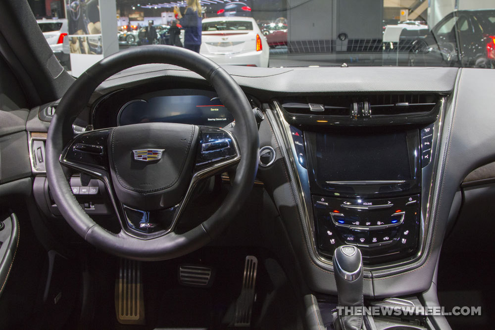 2017 cadillac cts v sport interior the news wheel. Black Bedroom Furniture Sets. Home Design Ideas
