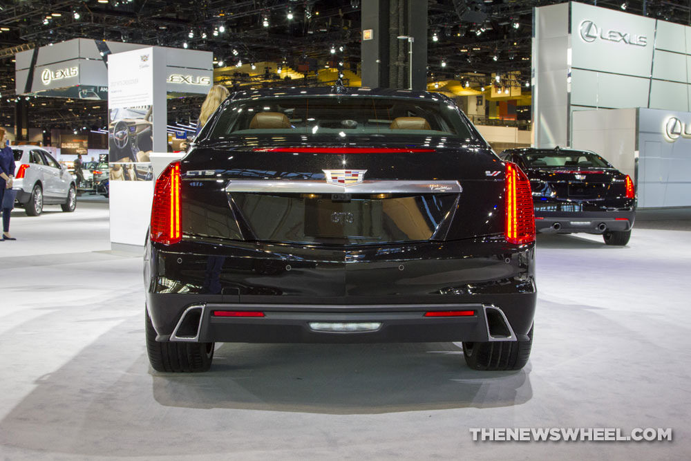 Cadillac brought its entire model lineup to the 2017 Chicago Auto Show, including the 2017 Cadillac CTS V-Sport