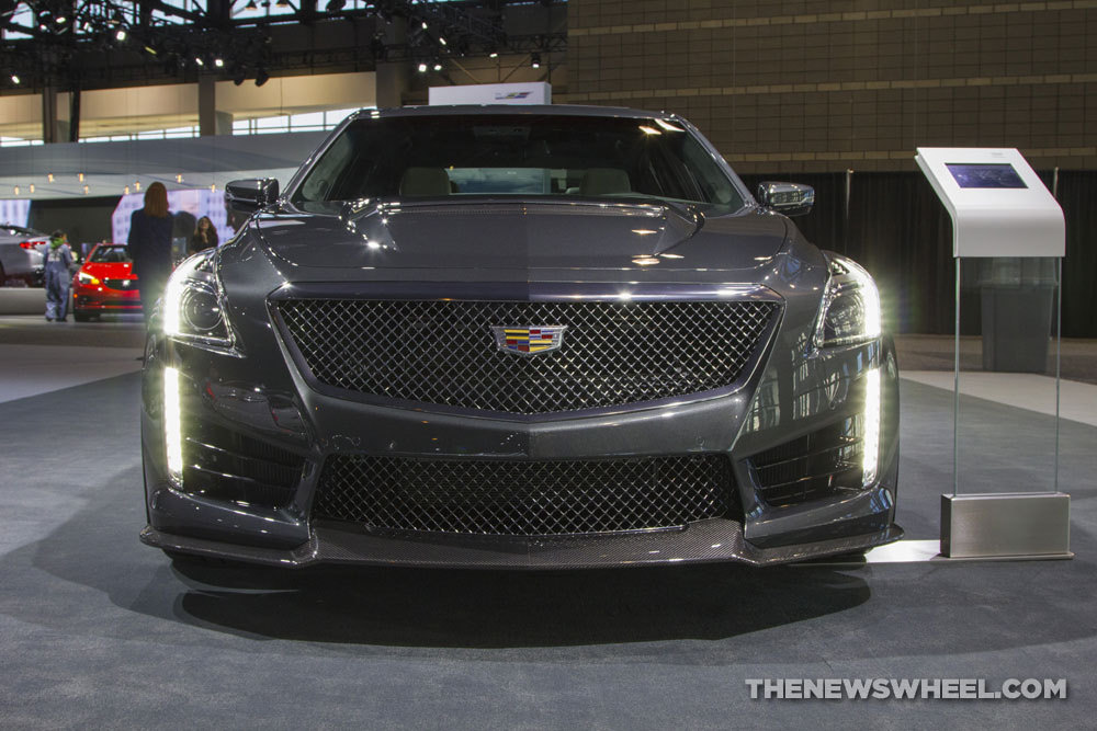 Cadillac brought its entire model lineup to the 2017 Chicago Auto Show, including the 2017 Cadillac CTS-V