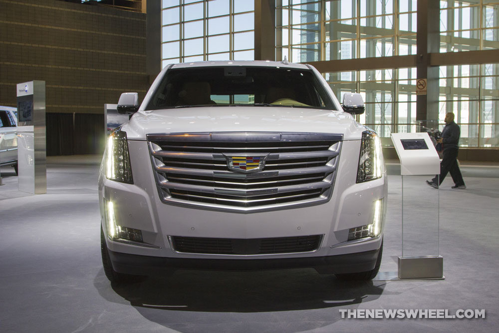 Cadillac brought its entire model lineup to the 2017 Chicago Auto Show, including the 2017 Cadillac Ecalade