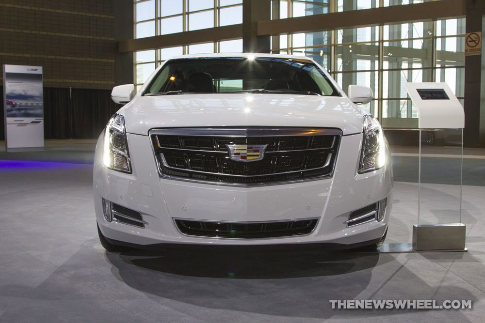 Cadillac brought its entire model lineup to the 2017 Chicago Auto Show, including the 2017 Cadillac XTS