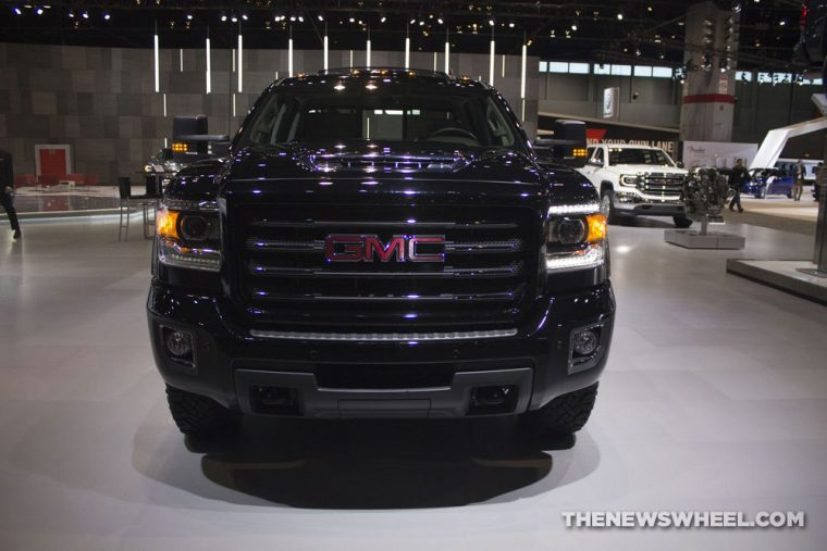 GMC brought its full lineup of vehicles to the 2017 Chicago Auto Show, including the 2017 GMC Sierra HD SLT All Terrain