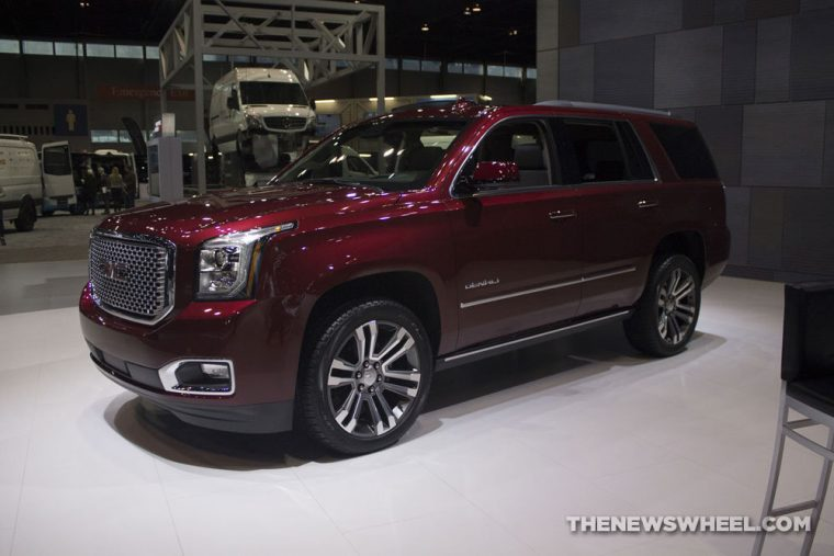 GMC brought its full lineup of vehicles to the 2017 Chicago Auto Show, including the 2017 GMC Yukon Denali