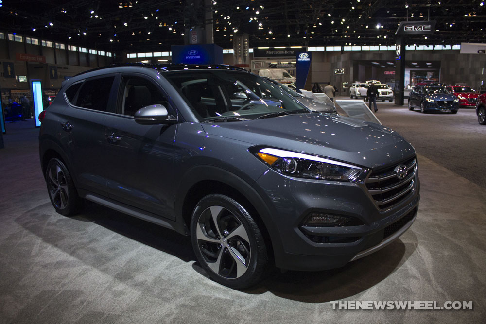2017 Hyundai Tucson Limited 1 6t Suv At Chicago Auto Show Crossover
