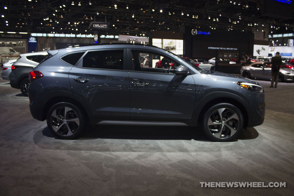 2017 Hyundai Tucson Limited 1.6T SUV at Chicago Auto Show