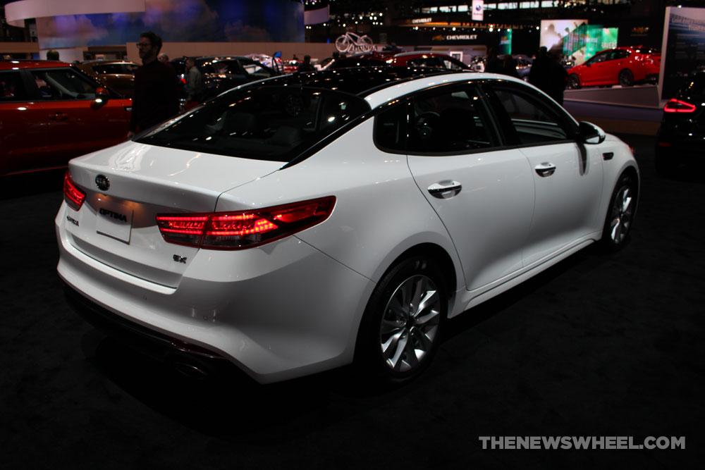 2017 Kia Optima white ...