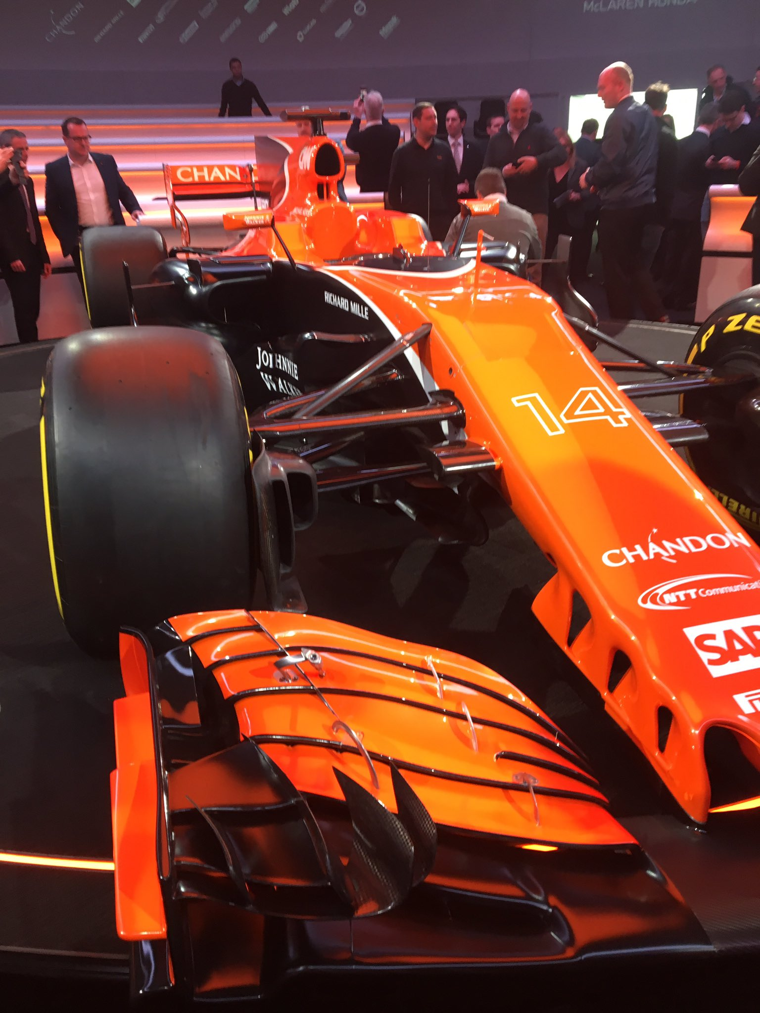mclaren has actually done it their 2017 f1 car is orange the news wheel. Black Bedroom Furniture Sets. Home Design Ideas