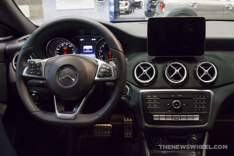 Mercedes-Benz brought its full fleet of vehicles to the 2017 Chicago Auto Show, including the 2017 Mercedes-Benz CLA-Class