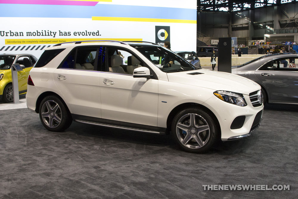 2017 mercedes benz gle 550e side profile the news wheel for 2017 mercedes benz gle