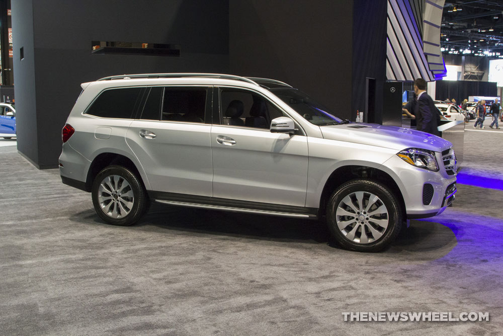 2017 mercedes benz gls 450 4matic the news wheel