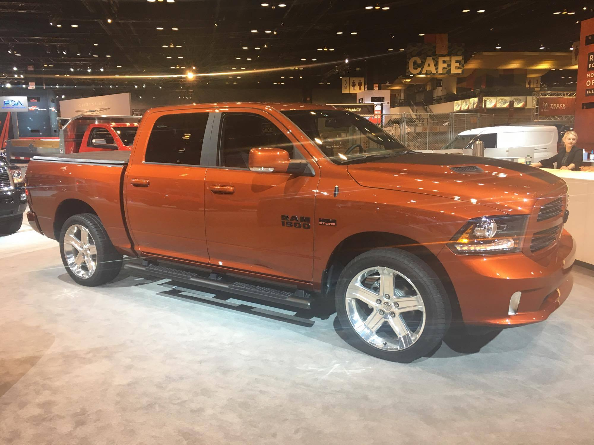 2017 ram 1500 copper sport debuts at the chicago auto show the news wheel. Black Bedroom Furniture Sets. Home Design Ideas