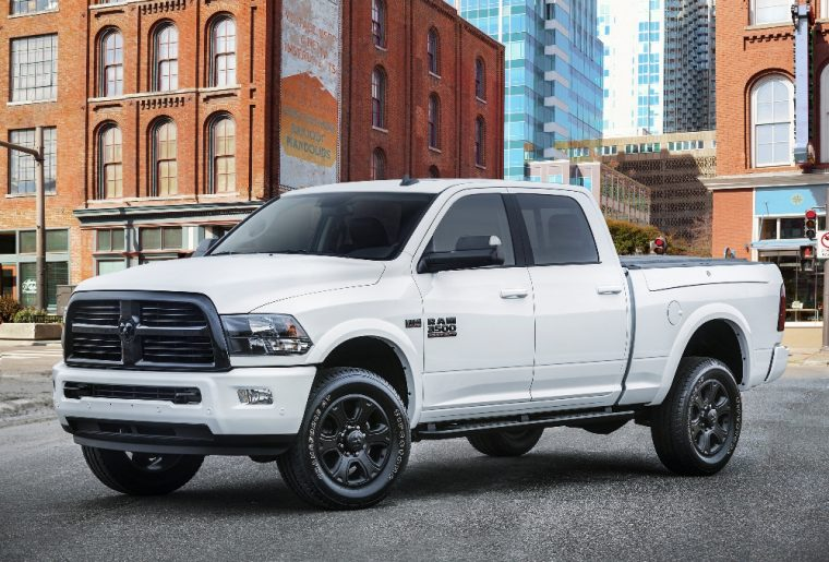 The Ram Heavy Duty Night will make its debut at the Chicago Auto Show and will carry a starting MSRP of $45,520