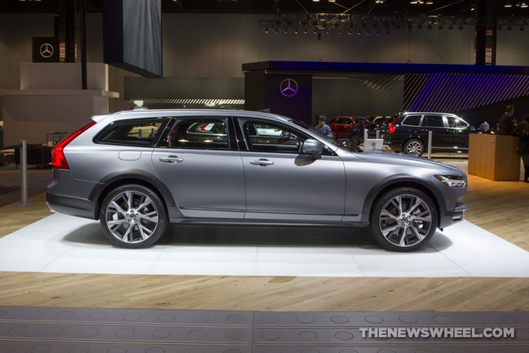 The 2017 Volvo V90 Cross Country has been priced at $55,300