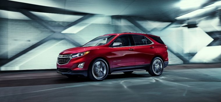 The 2018 Chevrolet Equinox is one of the new models that GM will be displaying at the 2017 Chicago Auto Show