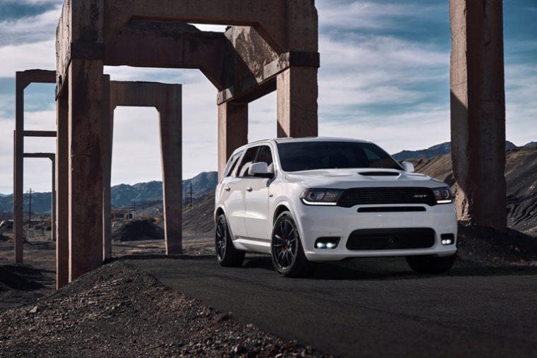 The 2018 Dodge Durango SRT on the move