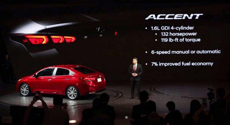 2018 hyundai usa. Modren 2018 2018 Hyundai Accent Subcompact Car Debut At Canadian Auto Show 1 Throughout Hyundai Usa