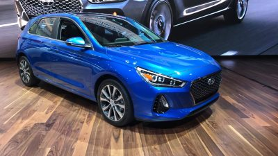 2018 Hyundai Elantra GT reveal at Chicago Auto Show 2.0-liter