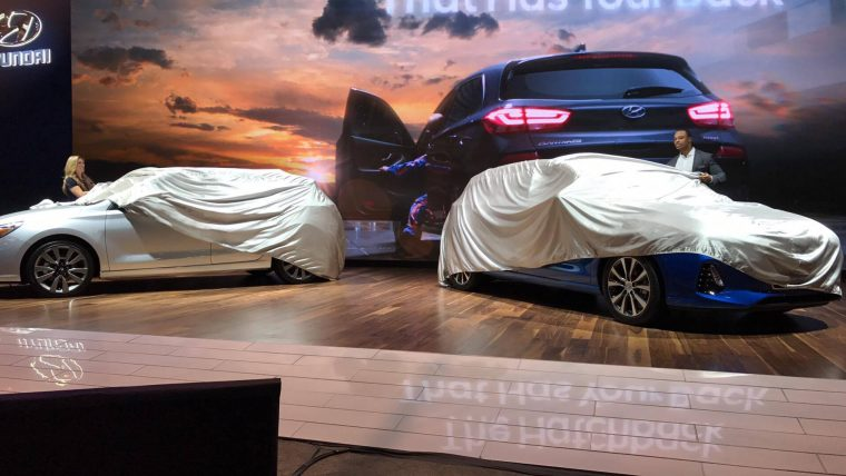 2018 Hyundai Elantra GT reveal at Chicago Auto Show