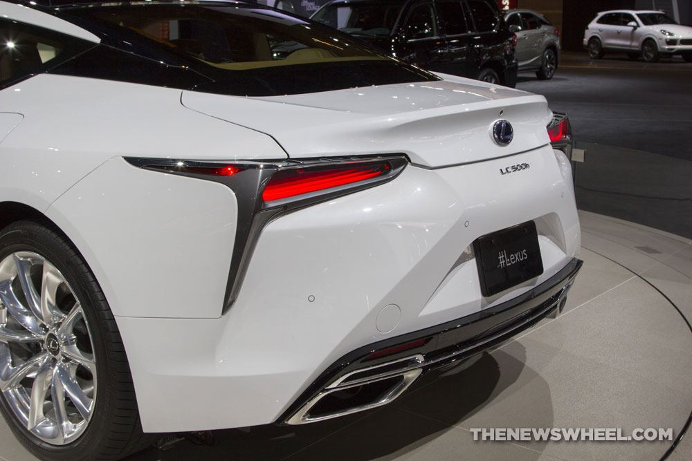2017 Lexus Lc 500 >> 2017 Chicago Auto Show Photo Gallery: See the Cars Lexus Had on Display - The News Wheel