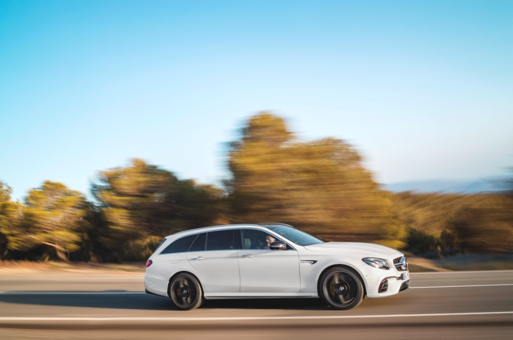 The 2018 mercedes amg e63 s wagon the news wheel for Mercedes benz station wagon 2018