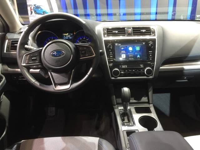 2018 Subaru Legacy 2.5i Sport Interior 2 | The News Wheel