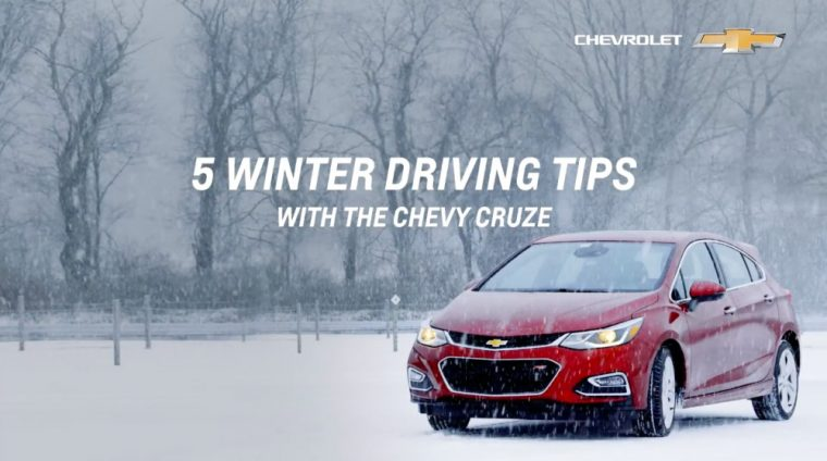 Chevrolet's newest online video offers five winter driving tips for Chevrolet Cruze drivers