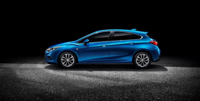 The new Chevrolet Cruze Hatchback will be sold in China for approximately $15,971 in US currency