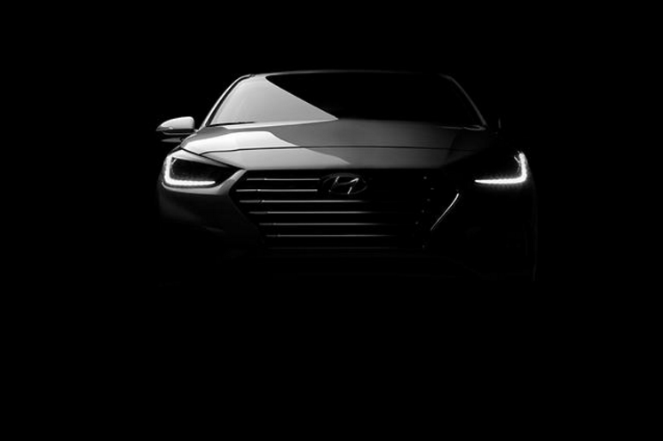 Hyundai released this teaser image of the new Accent before it debuts at the Canadian International Auto Show on February 16