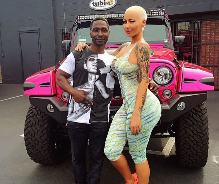 RIP Amber Rose's Pink Jeep Wrangler Unlimited - The News Wheel