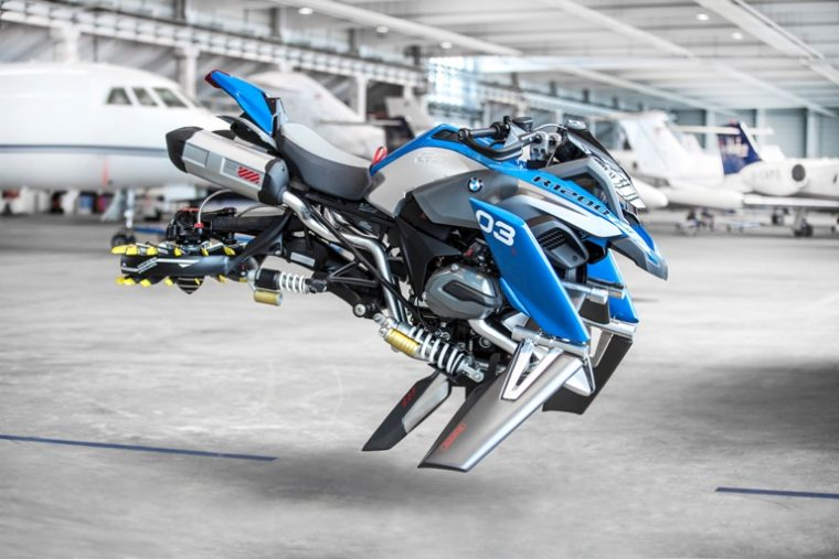 The Hover Ride concept vehicle from the minds at BMW and LEGO