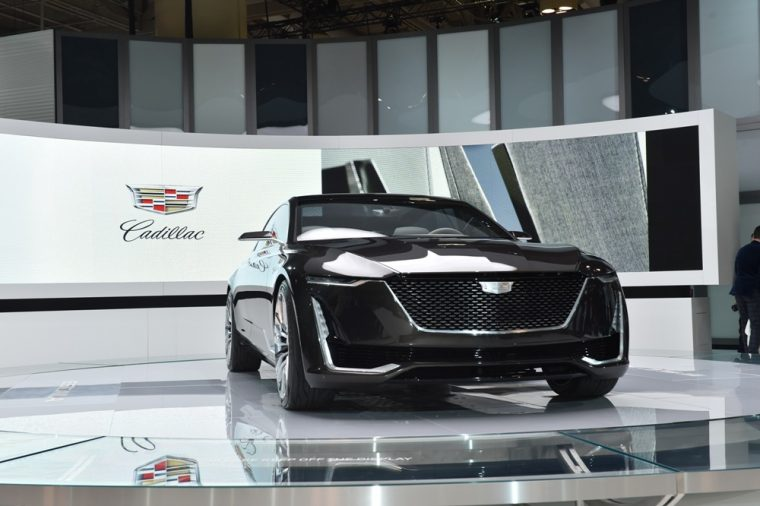 The Cadillac Escala Concept was recently showcased the Canadian International Auto Show