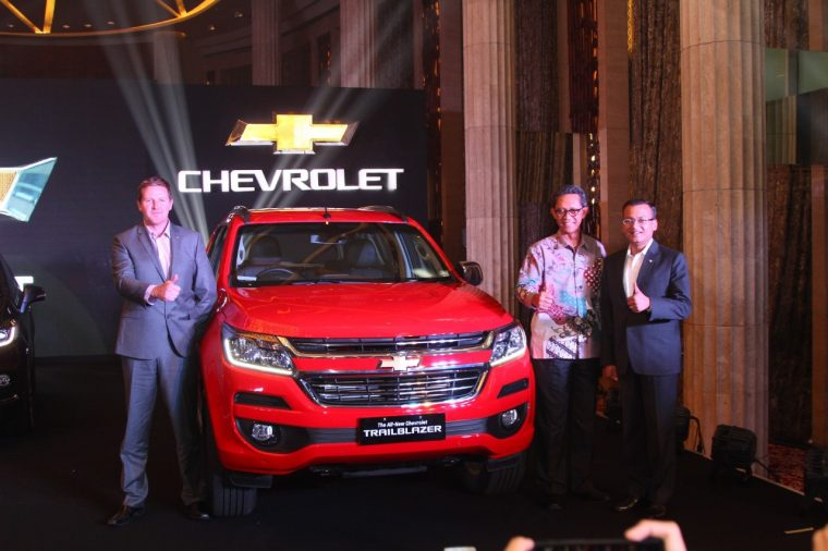 Chevrolet Indonesia reveals Chevy Trailbrazer