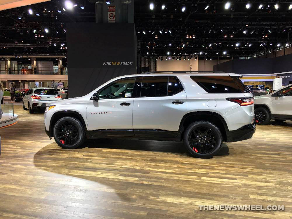 2019 Chevy Traverse >> Chevy Traverse Redline Edition Photos | The News Wheel