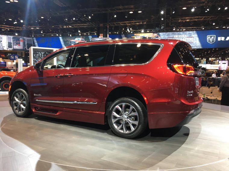 A closer look at the design of the BraunAbility Chrysler Pacifica