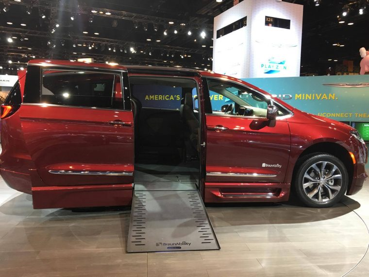 The BraunAbility Chrysler Pacifica