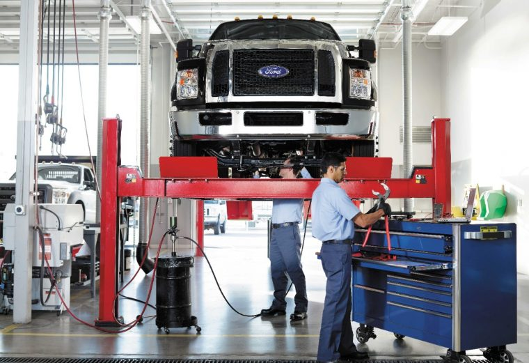 Ford Commercial Vehicle Center Program